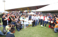 Inaugura Gobernador Temporada 2017-2018 de la Liga Municipal de Fútbol Amateur Morelia