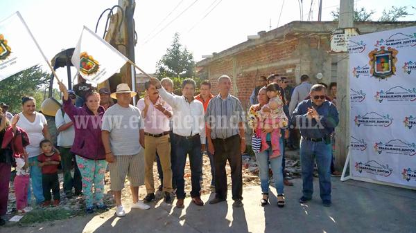 """""""Compromiso cumplido, realizamos acciones para separar agua de drenaje de pluvial"""": Rubén Cabrera"""