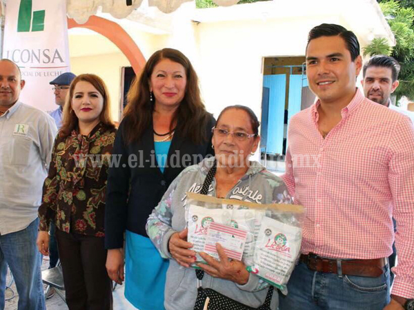 Suma LICONSA 435 lecherías en Michoacán; inauguran 2 más en Sahuayo y Huandacareo