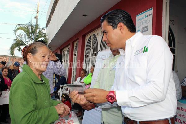 Realizó LICONSA jornadas de incorporación de beneficiarios en Zamora