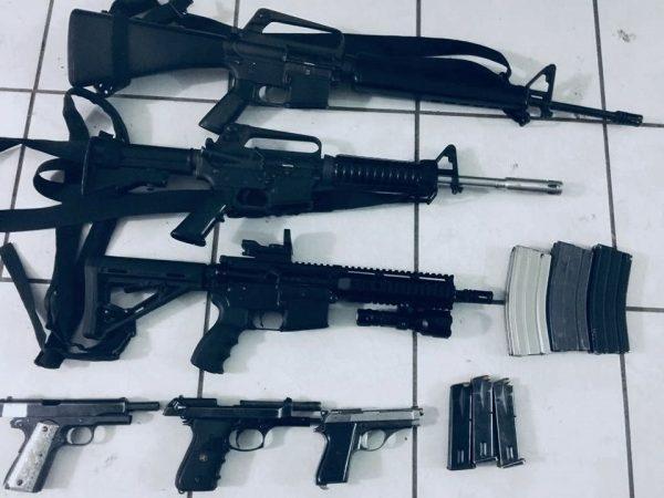 Detiene Policía Michoacán a seis con armamento en Tangamandapio