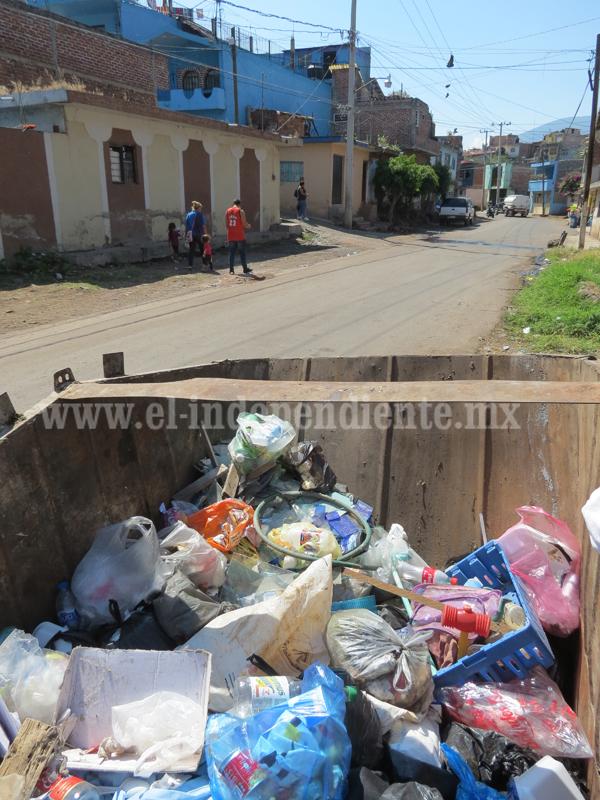 Al menos 70 toneladas diarias de basura recolectaron durante días de muertos