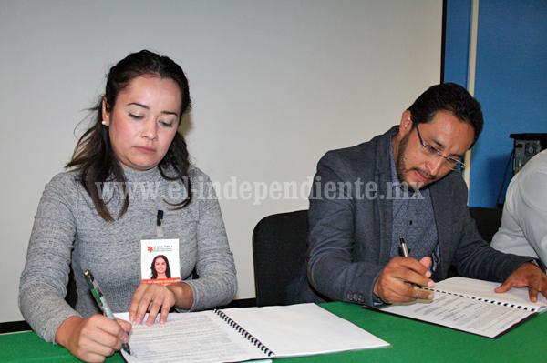 Tec Zamora e ICATMI formalizan convenio para beneficiar a estudiantes de Ing. Industrial