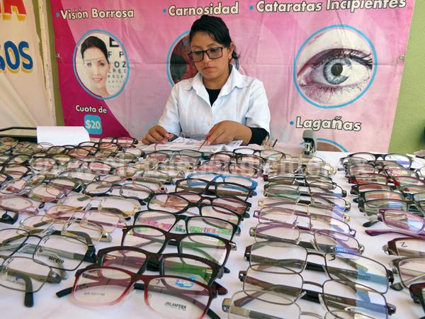 Recibirán lentes de graduación gratuitos alumnos con problemas visuales