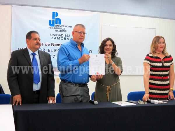 Presentan a Lorenzo Guzmán como director de la UPN 162