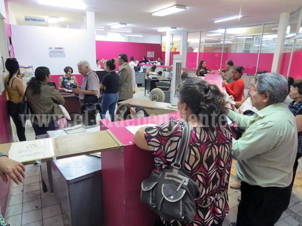 A la alza los matrimonios en Registro Civil