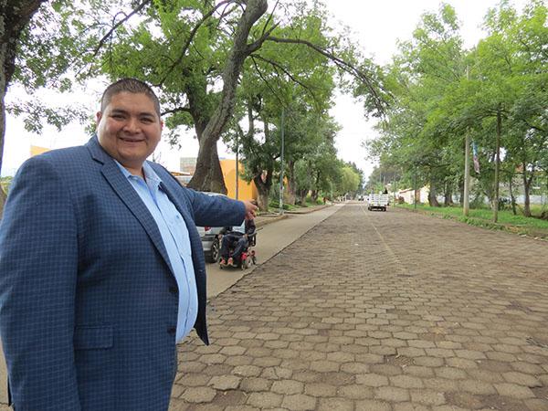 Pavimentación de calle Guadalupe Victoria va a la mitad