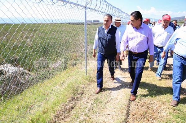 Gestiona Silvano Aureoles 120 mdp adicionales para tratamiento de aguas residuales