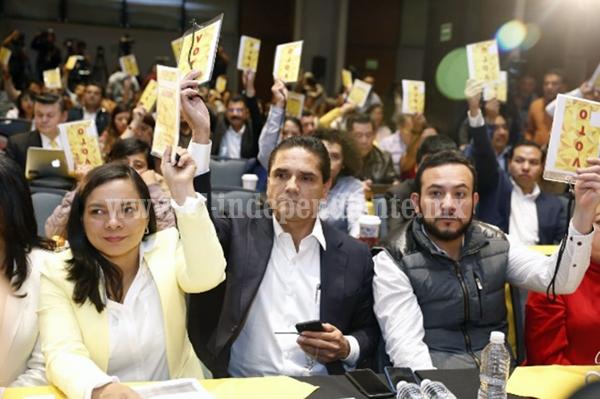 PRD no obstaculiza el Frente; lo propuso y busca darle certeza: Silvano Aureoles