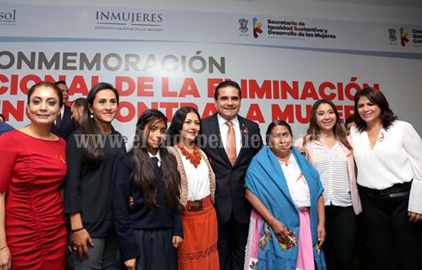 Michoacán tendrá presupuesto con perspectiva de género: Silvano Aureoles