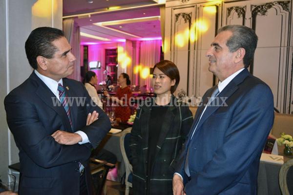 Promueve Silvano Aureoles oportunidades de desarrollo en Michoacán a inversionistas de China
