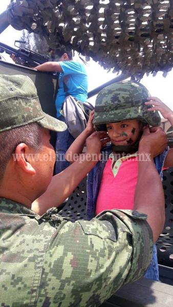 Ejercito abrió a ciudadanía el paseo dominical del  17 Batallón de Infantería