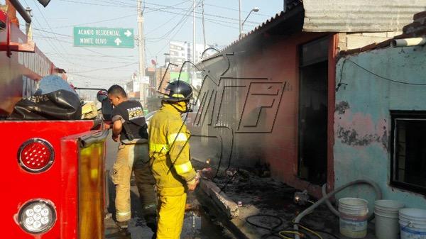 Se registra incendio en la 20 de noviembre de Zamora
