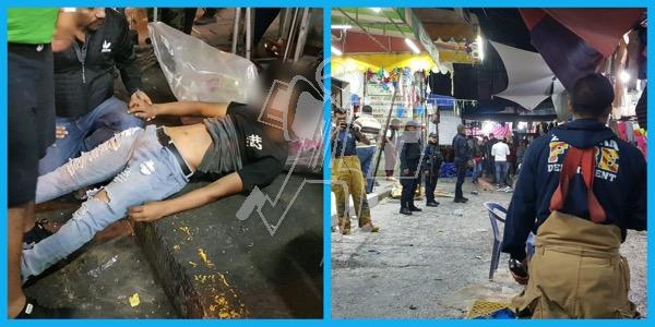 Por tercera vez arde puesto de pirotecnia en el Mercado Hidalgo; hay un requerido