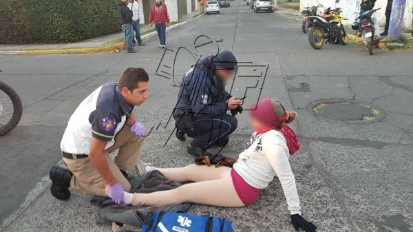 Choque de motos deja dos lesionados, en Zamora