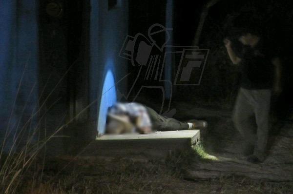 Sexagenario es asesinado a balazos en la puerta de su casa, en Jacona