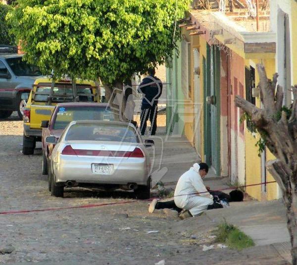 Se registra homicidio a balazos en la Francisco Villa