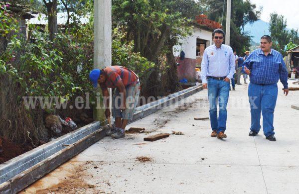 Año 2017 importante en materia de obras públicas para Tangancícuaro