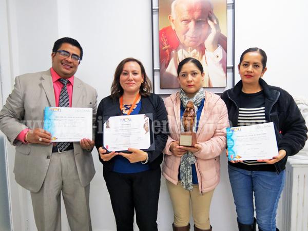 Centro de Salud Niños Héroes  recibió galardón PACAL