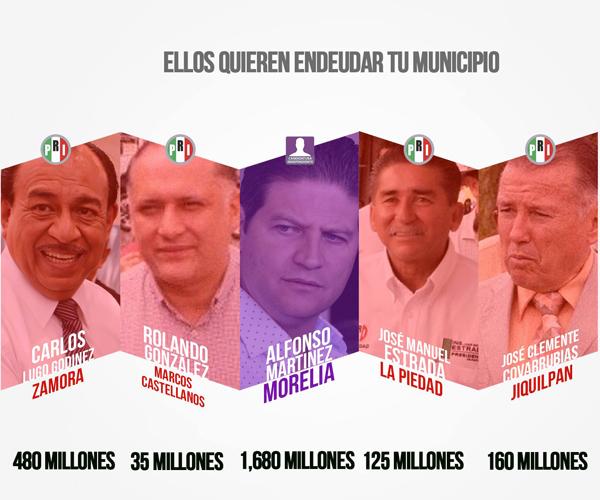 Rechazamos que se endeude a municipios: José Manuel Hinojosa Pérez Presidente del PAN en el estado