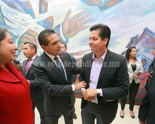 Silvano Aureoles prioriza a Michoacán y muestra altura política: García Conejo