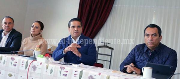 Supervisa Gobernador avance de acciones y programas