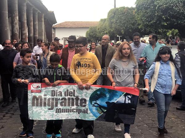 Gobierno del Estado trabaja para que el sueño michoacano sea una realidad: Semigrante