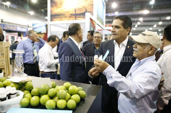 """Michoacán, presente en la Segunda Feria Internacional """"México Alimentaria Food Show 2017"""""""