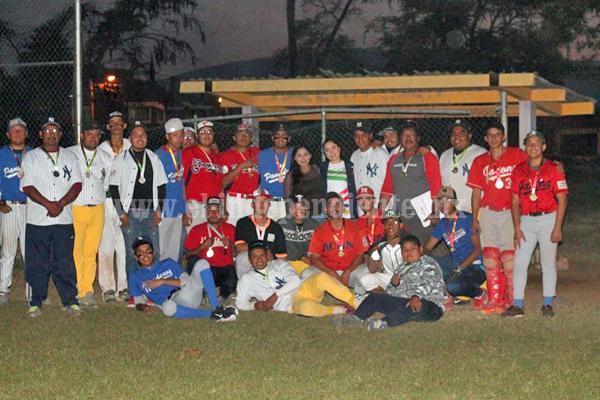 Escuela de beisbol se quedó con la corona de la Olimpiada Municipal