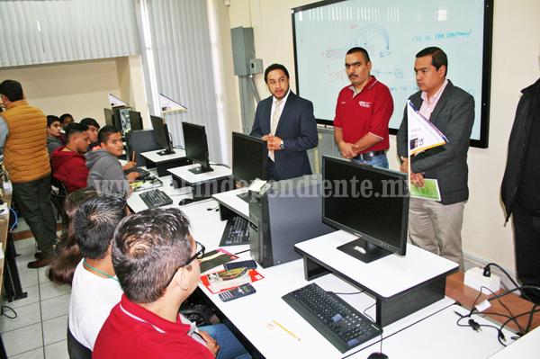 Realizan IX Concurso Local de Programación en Tec Zamora