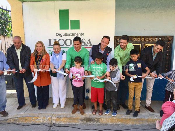 Inauguró LICONSA 2 lecherías en Zamora