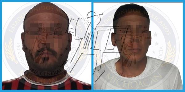 Detiene PGJE a dos por tentativa de homicidio y lesiones calificadas en Zamora