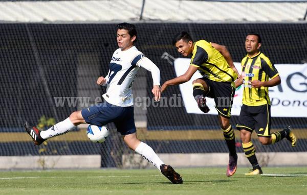 Valioso empate consiguió Real Zamora ante la filial de Pumas