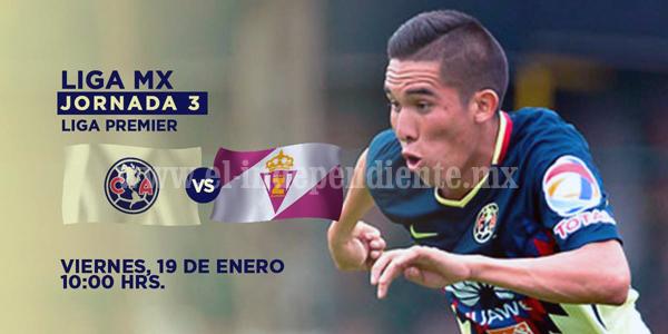 Real Zamora visita al América en la Liga Premier