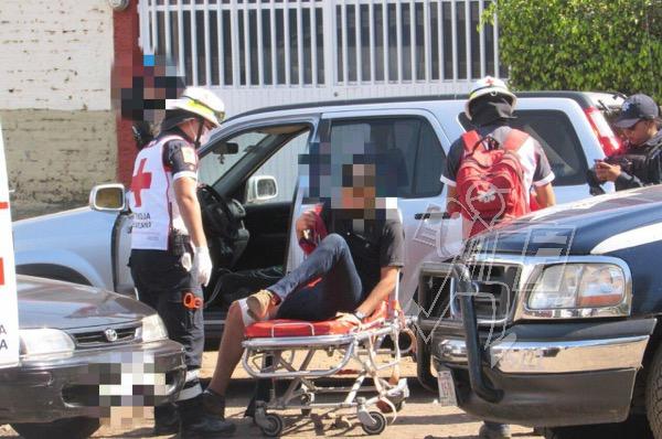 Automovilista es baleado tras discutir con 3 peatones