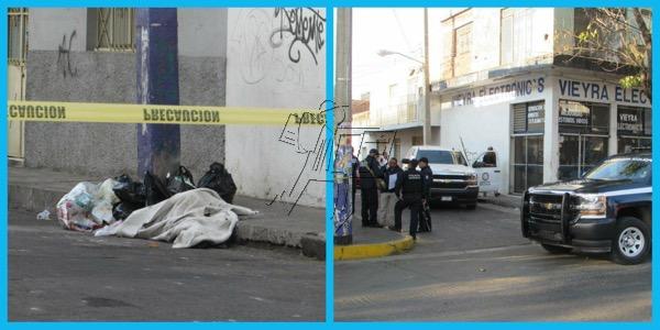 Hallan cadáver encobijado y baleado en la colonia centro de Zamora