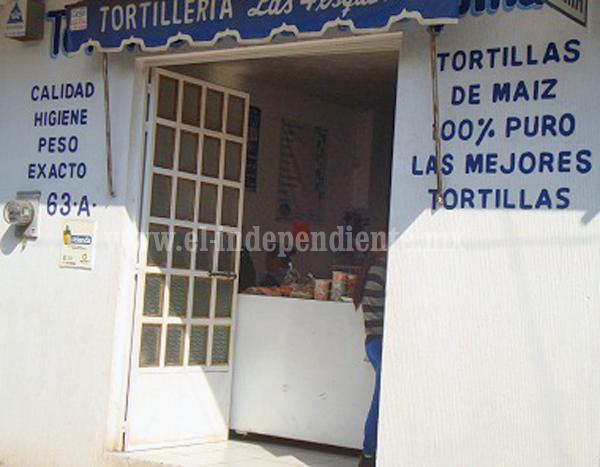 EN JACONA SE MANTIENE A 16 PESOS EL KG DE TORTILLA