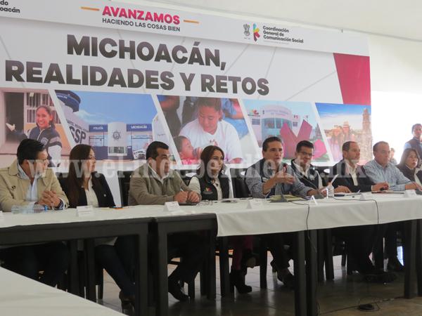 Gobernador pondrá a funcionar nueva estrategia de seguridad en Zamora