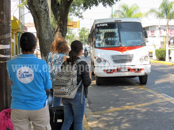 Crece la posibilidad de aumentar precio de tarifa de transporte público