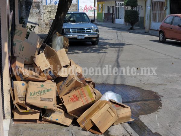 Redoblarán revisiones para evitar tiraderos de basura en lotes baldíos
