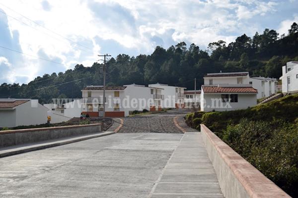 Con el Barrio Sustentable Monarca, IVEM dio certeza patrimonial a 462 familias