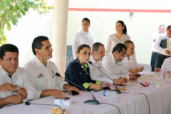 Con seguridad e inversiones, avanza desarrollo de Lázaro Cárdenas