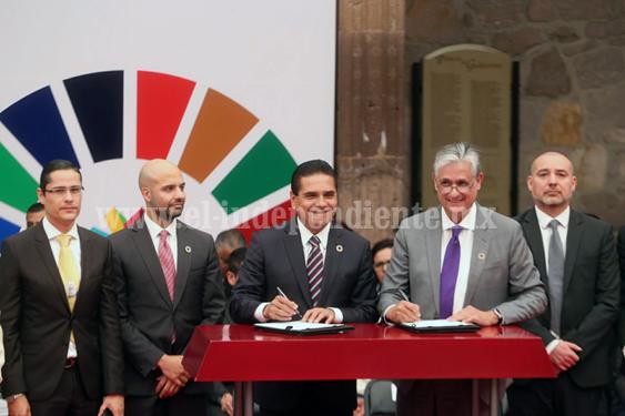 Instala Gobernador Consejo Consultivo de Planeación del Estado de Michoacán