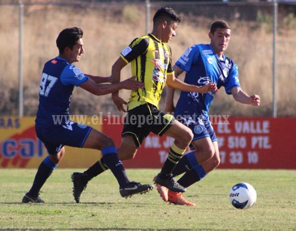 Real Zamora perdió su primer partido de local ante el Puebla