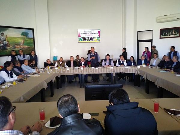 Coinciden empresarios de Zamora y Gobernador en reactivar economía regional