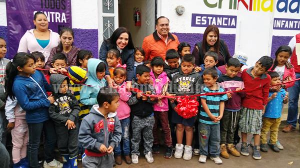 Más de 12 mil niños michoacanos beneficiados con programa de estancias infantiles de SEDESOL