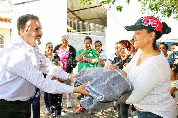 Alcalde refrendó a población apoyo a sus necesidades