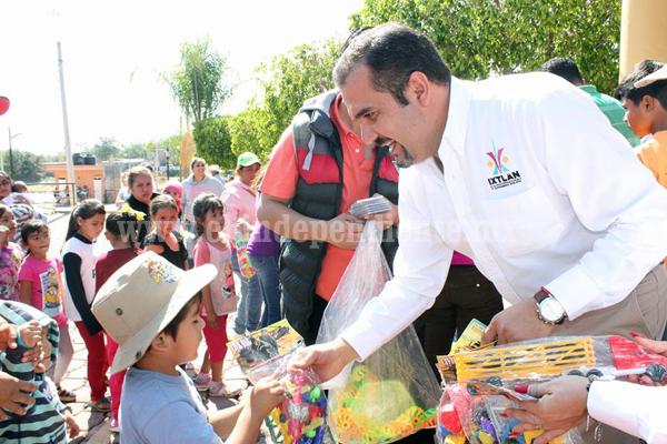 """""""En Día de Reyes Magos, nada más importante que mantener ilusión y alegría en niños"""""""
