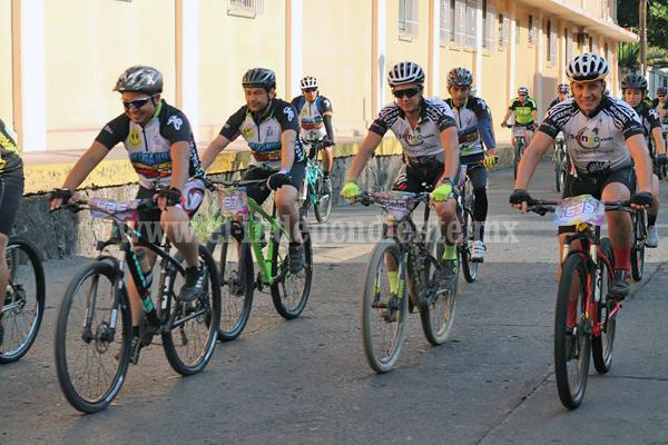 Liga de ciclismo de Occidente se sumará a Rodando por una Sonrisa