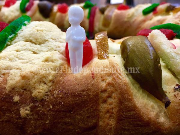 A la alza precio de Rosca de Reyes,  por aumentos en  insumos y servicios